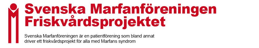Svenska Marfanföreningen Friskvårdsprojekt